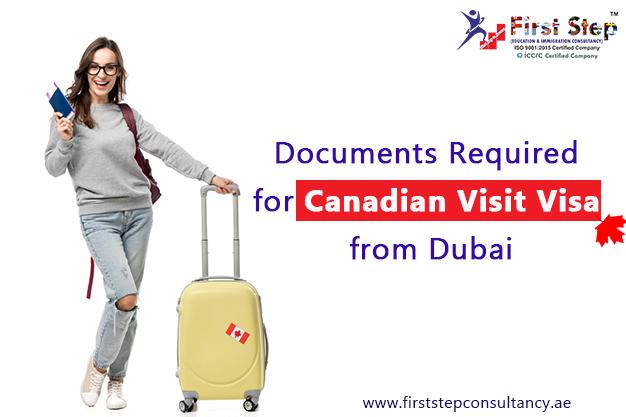 Documents Required for Canadian Visit Visa from Dubai